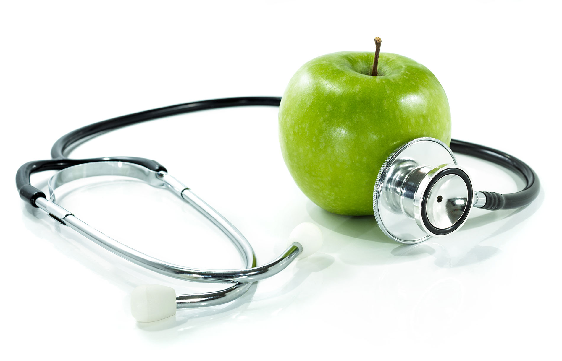 Health Insurance - Teledoc - stethoscope and apple