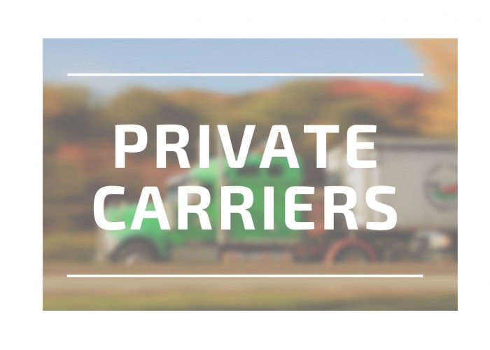 Private Carriers