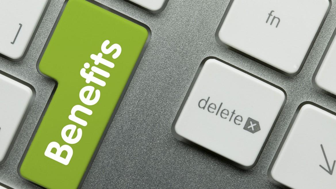 Health Insurance - Employee benefits - benefits keyboard