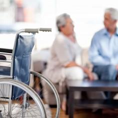 Health Insurance - Long Term Care - wheelchair