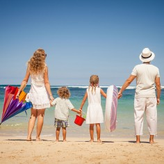 Wealth Management - College Planning - family on the beach
