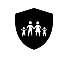 shield around family
