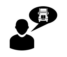 Transportation Risk Specialist Icon