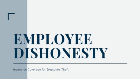 Employee Dishonesty: Insurance Coverage for Employee Theft Blog Image