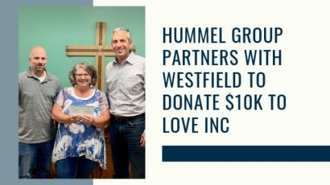 Hummel Donates 10k to Love INC