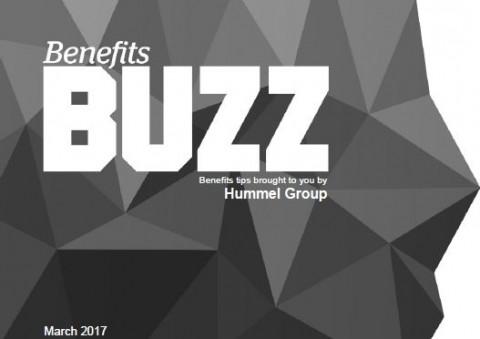Benefits Buzz March 2017