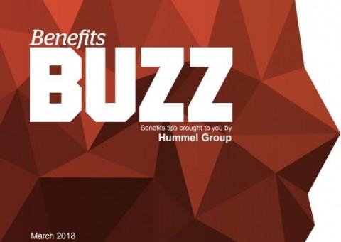 Benefits Buzz March 2018