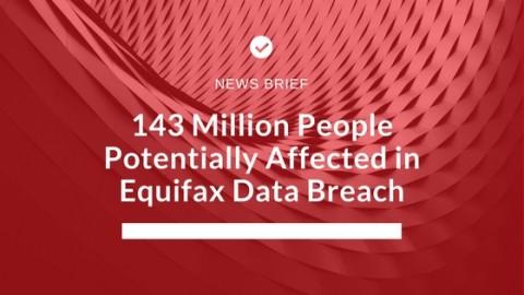 News Brief - Equifax Data Breach