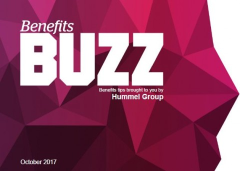 Benefits Buzz October 2017