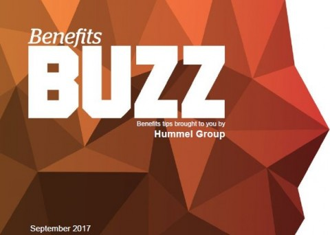 Benefits Buzz September 2017