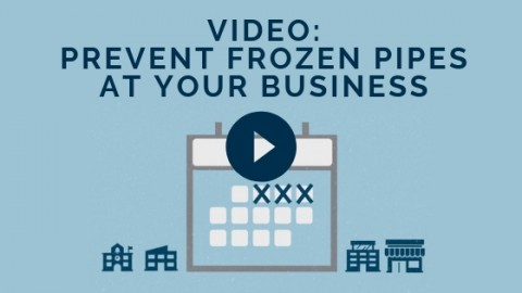 Preventing Frozen Pipes at Your Business