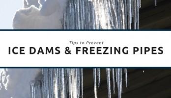 Ice Dams & Freezing Pipes blog photo