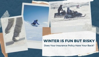 Blog image that includes skiing, ice skating, and snowmobiling.